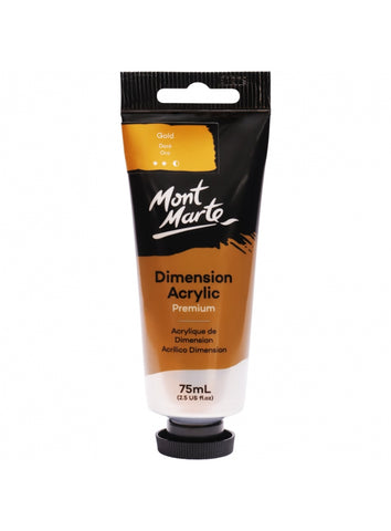 Dimension Acrylic - Gold (75ml)