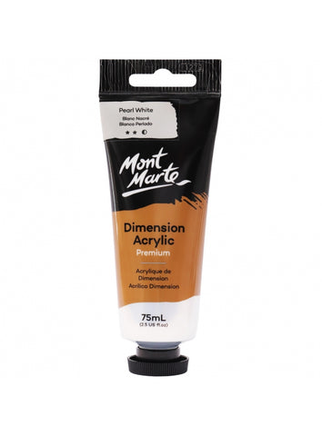Dimension Acrylic - Pearl White (75ml)