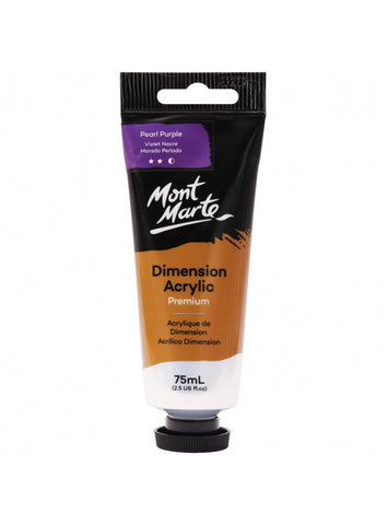 Dimension Acrylic - Pearl Purple (75ml)