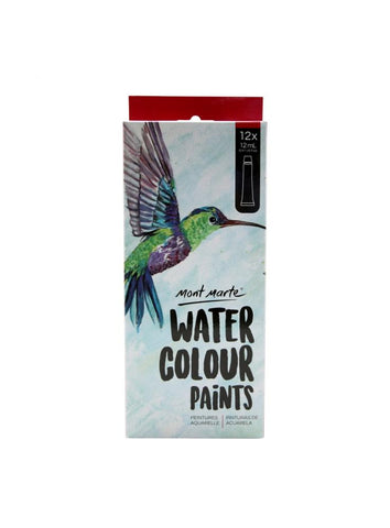 Watercolor Paint Set (12pc)