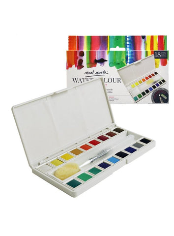 Watercolor Half Pan Set (21pc)