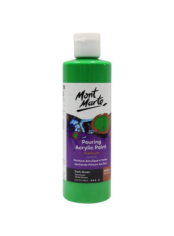Pouring Acrylic - Dark Green (240ml)