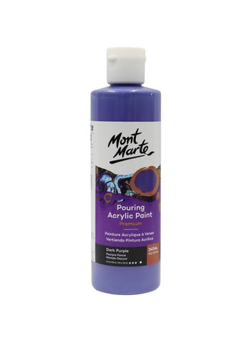 Pouring Acrylic - Dark Purple (240ml)