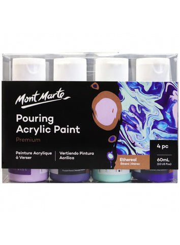 Pouring Acrylic Set - Ethereal (4pc/60mL each)