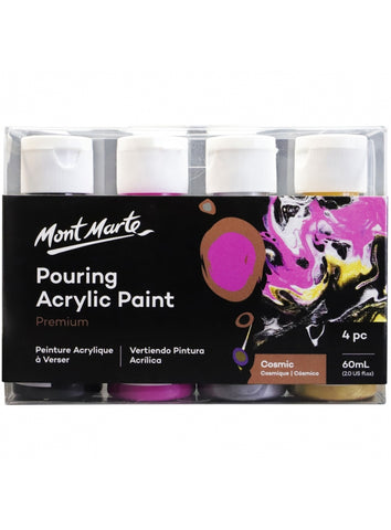 Pouring Acrylic Set - Cosmic (4pc/60mL each)
