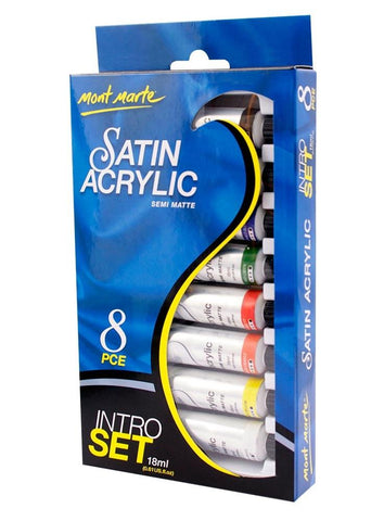Acrylic Intro Set - Satin (8pc)
