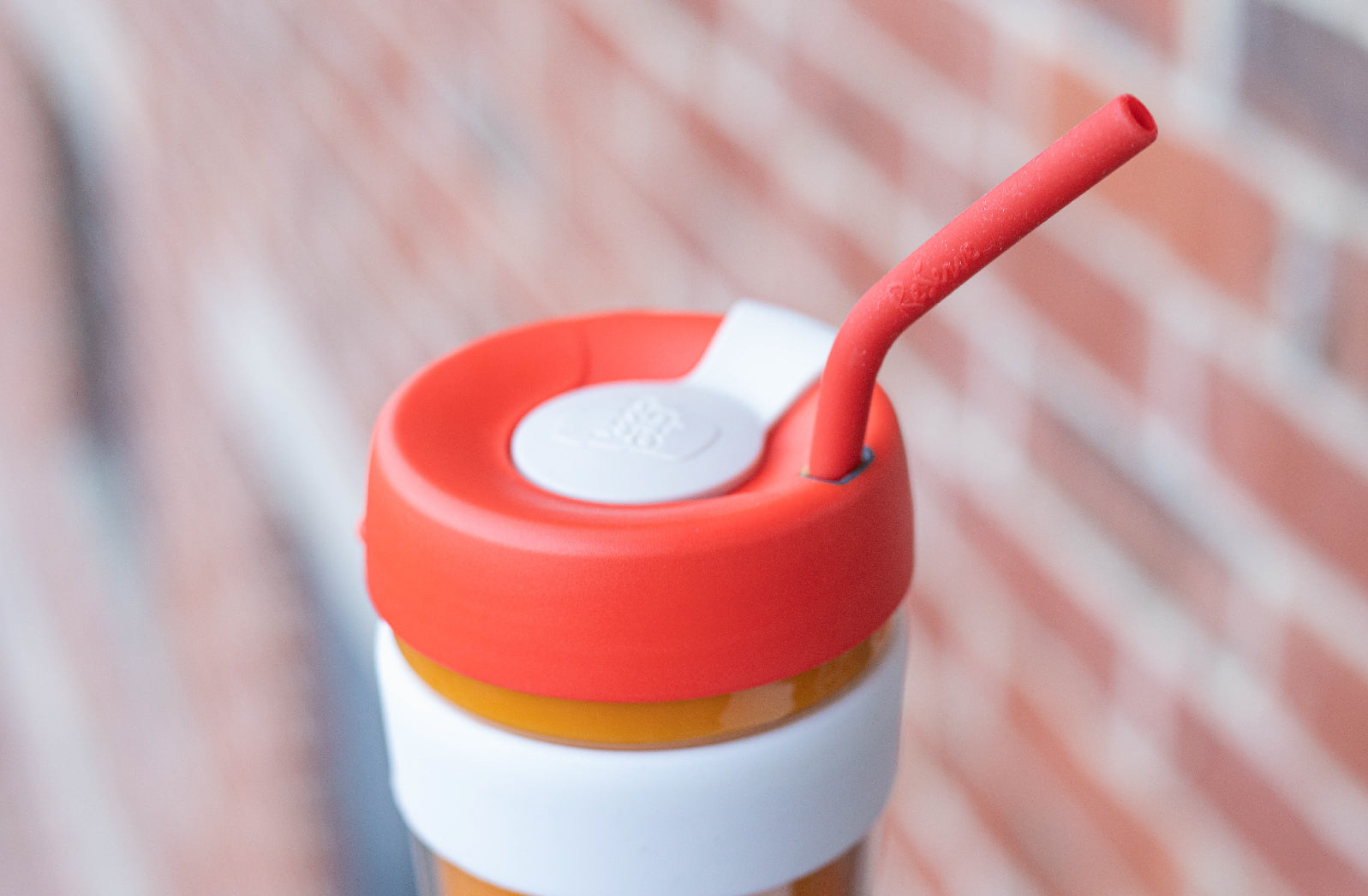 Christmas ReServe x KeepCup with Limited-edition ReServe red silicone drinking reusable straw