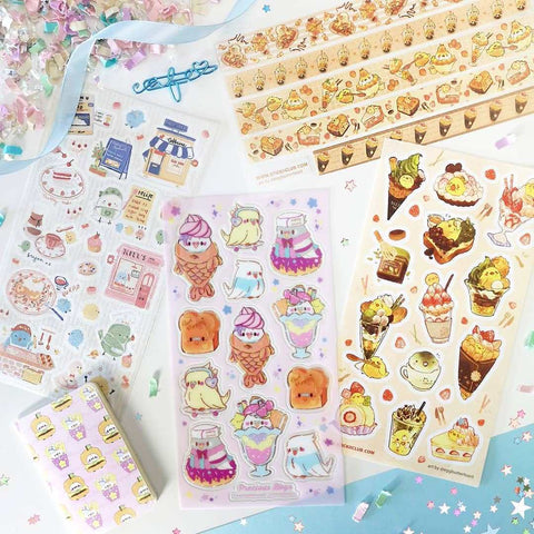 August 2020 Cute Pack: Bird Cafe