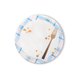 picnic plate note notepad