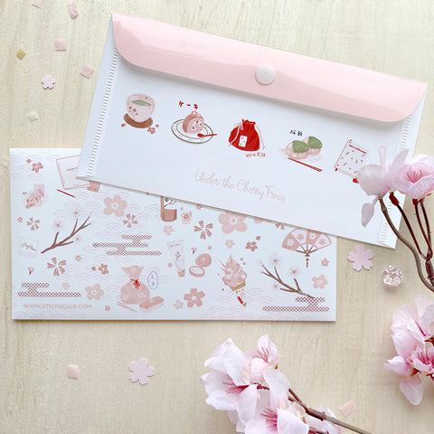Under the Cherry Tree Sticker Sheets Organizer