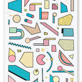 Abstract Shapes Sticker Sheet
