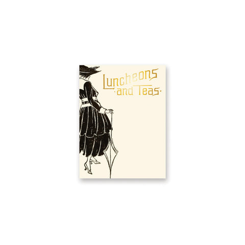 Luncheons and Teas Mini Notepad