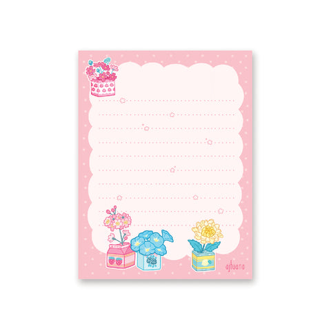 Lovely Floral Notepad
