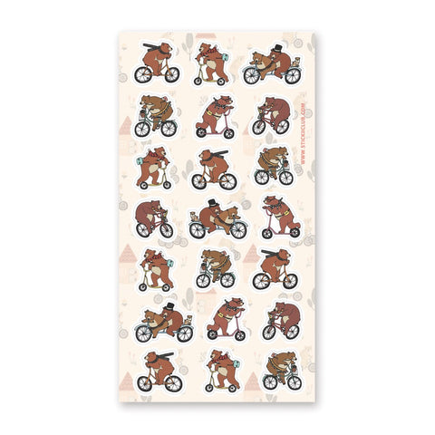 Bicycling Bears