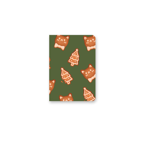 Christmas Cookies Mini Notebook
