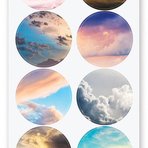 cloud sky sticker sheet