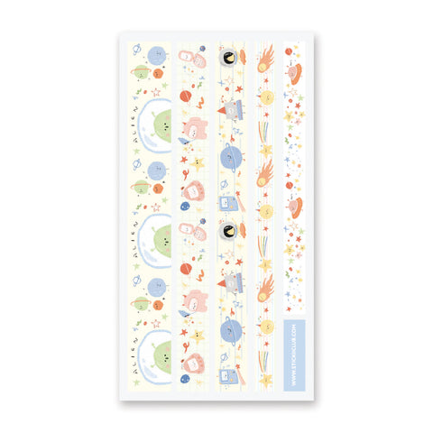 Space Adventures Washi Strips
