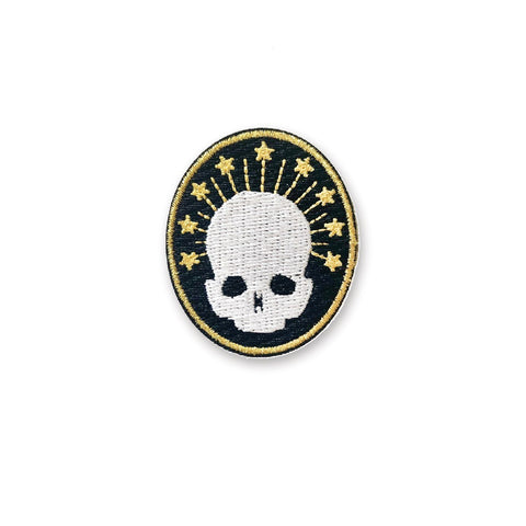 Stars and Skull Sticker Patch