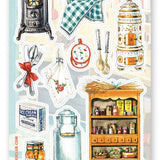 home kitchen cooking sticker sheet