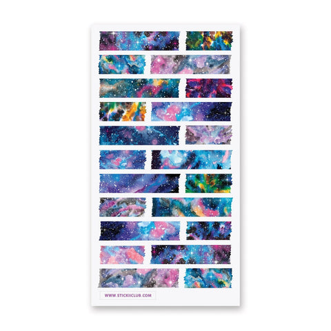 Galaxy Washi Strips