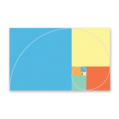 Golden Spiral Notepad