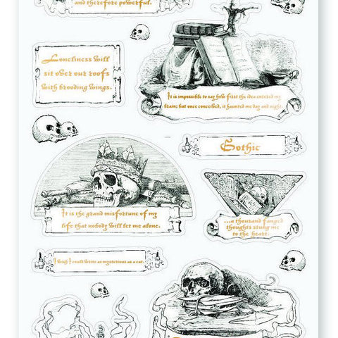 poetry writing author books play tragedy sticker sheet