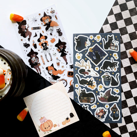 halloween pumpkin note notepad