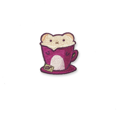 Hamster Latte Sticker Patch