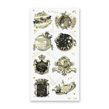 constellation stars space sticker sheet
