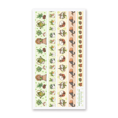 Pottery Pals Washi Strips