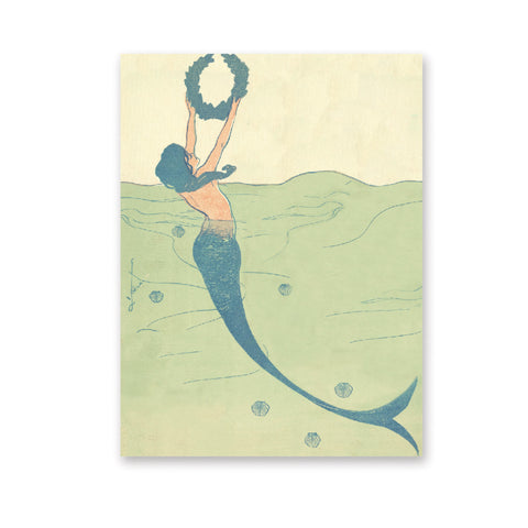 Mermaid Mini Notepad