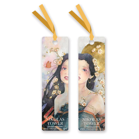 Golden Beauty Bookmark