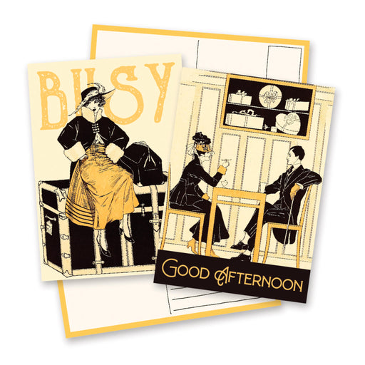 busy good afternoon outing fashion travel cafe drink postcard