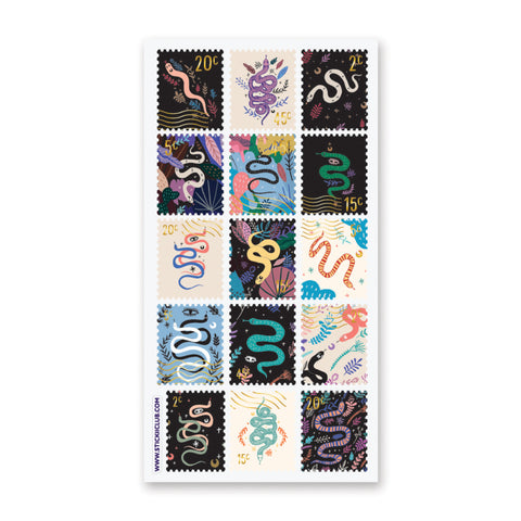 Serpent Stamps