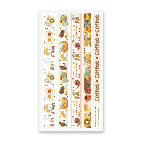 Cafe Sticker Strips