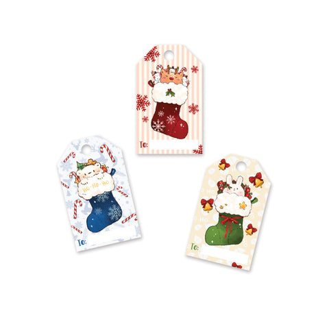 Kawaii Christmas Gift Tags