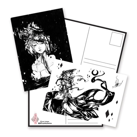 Light & Darkness Postcards