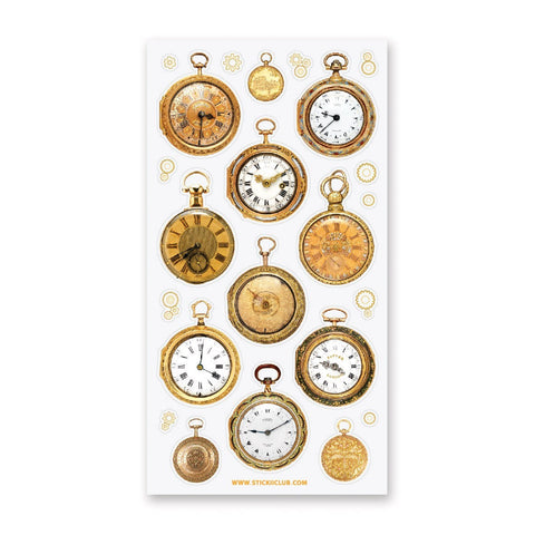 Golden Pocket Watches