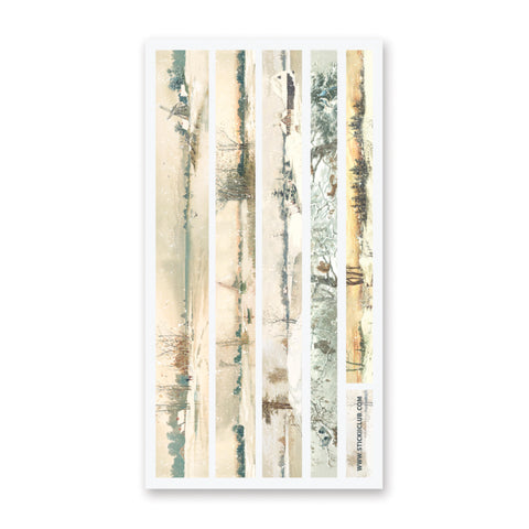 Winter Landscape Washi Strips