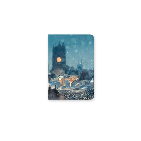 Snowy Town Mini Notebook
