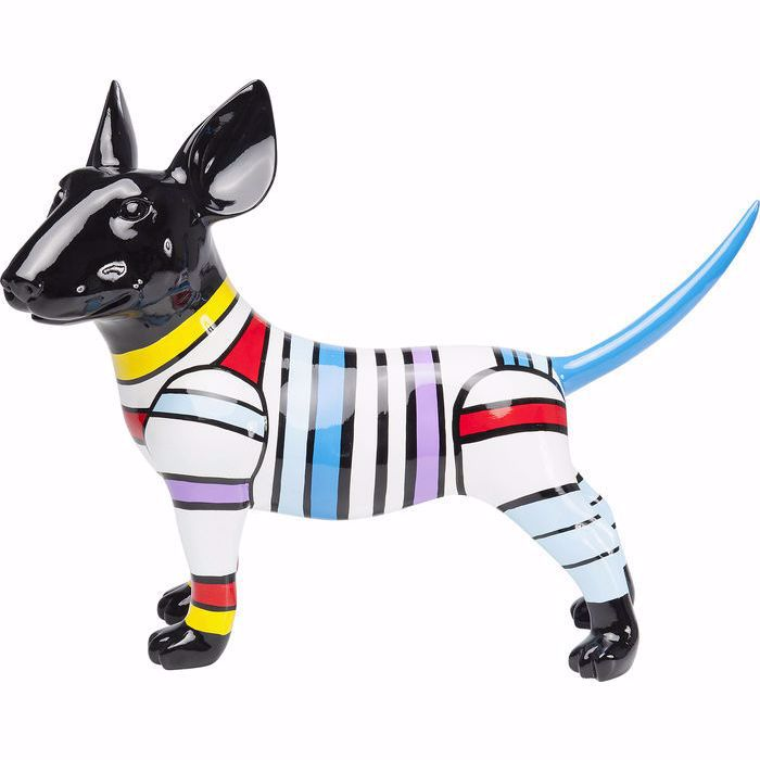 DOG STRIPE Figurine