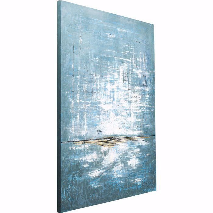 ABSTRACT BLUE 1 Oil Painting