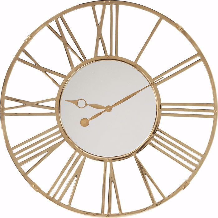 GIANT GOLD Clock