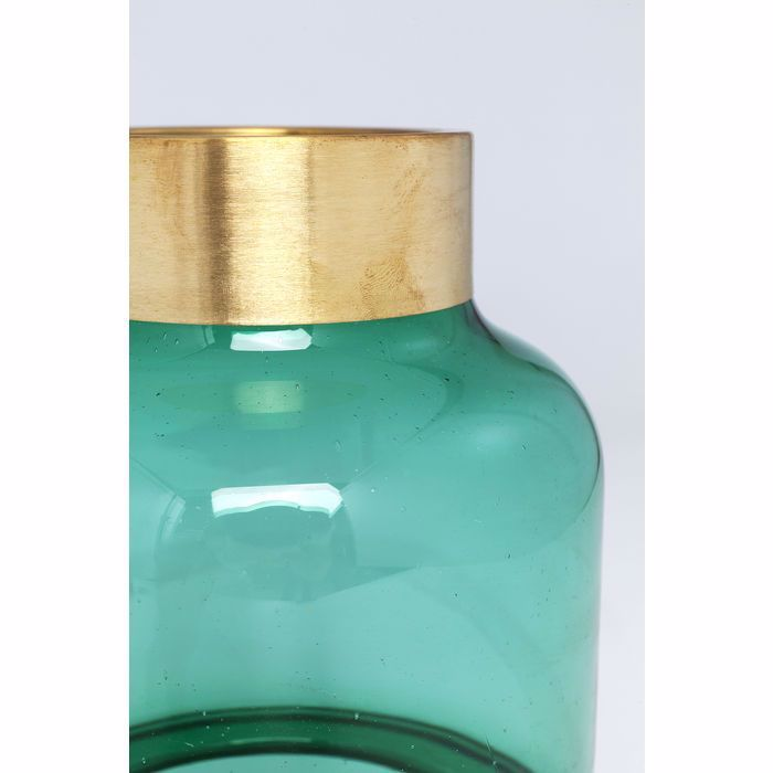 Positano 28 Belly Vase - Green