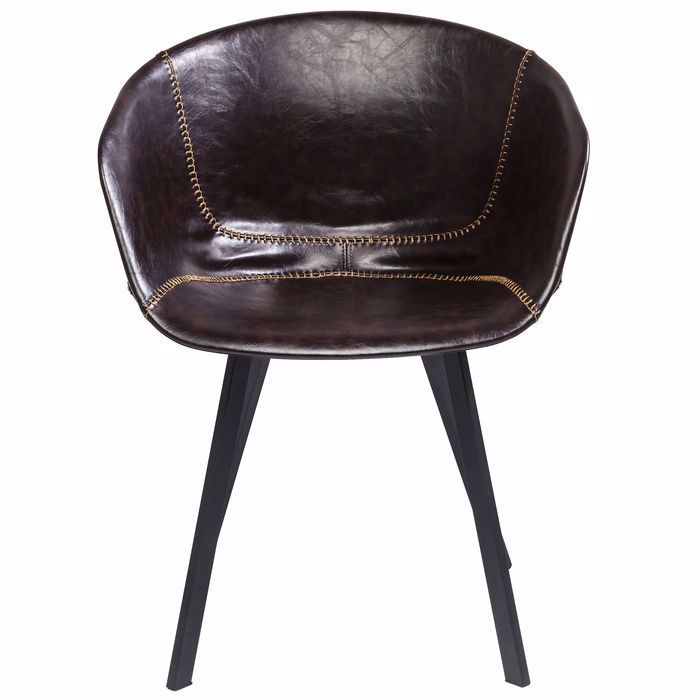 Lounge Armchair Brown