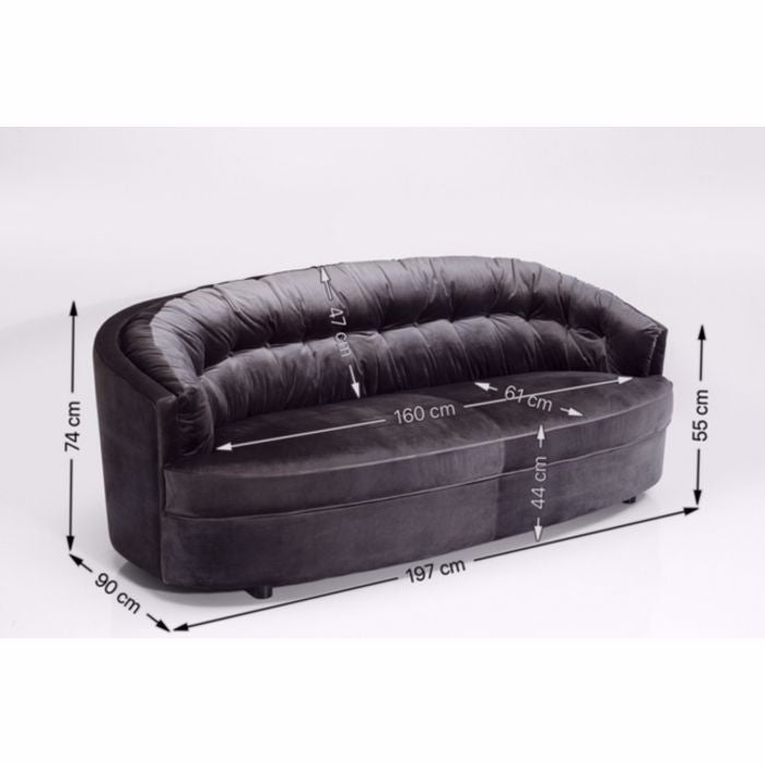 Music Hall 3-Seat Sofa