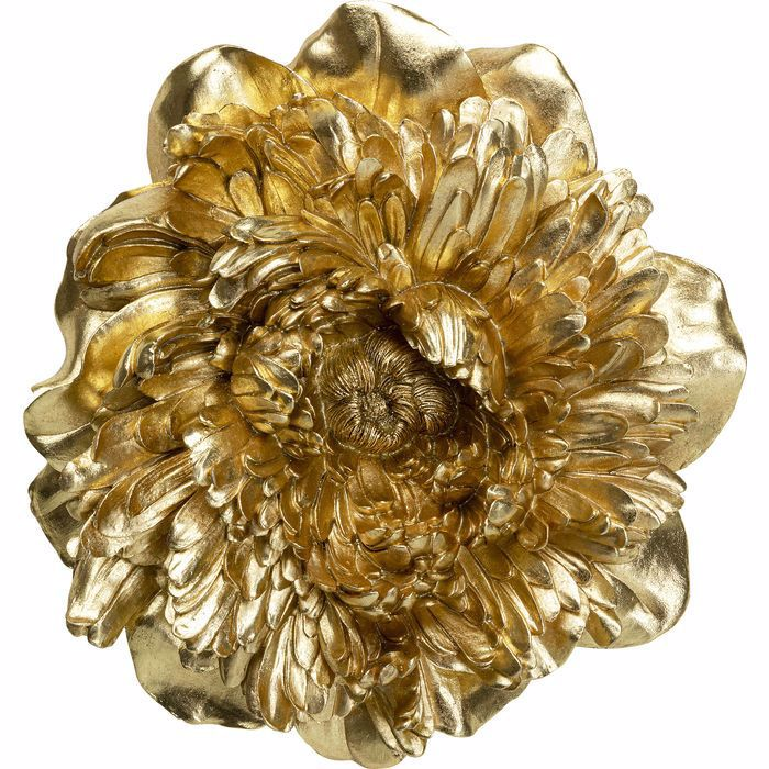 Peony Wall Decoration - Gold