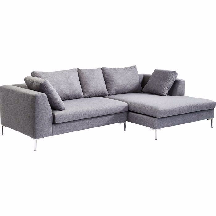 Gianni Right Sectional - Grey