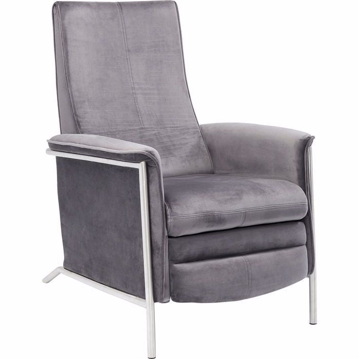 Relax Chair - Grey Velvet