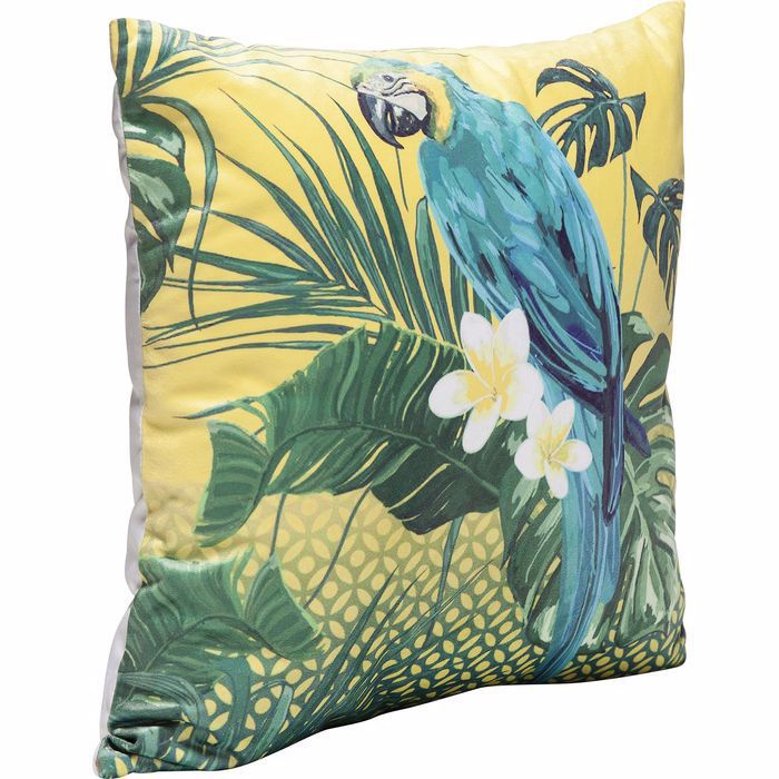 Jungle Parrot Cushion